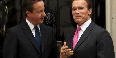 2010, con David Cameron, Primer Ministro de Inglaterra Foto:Getty Images