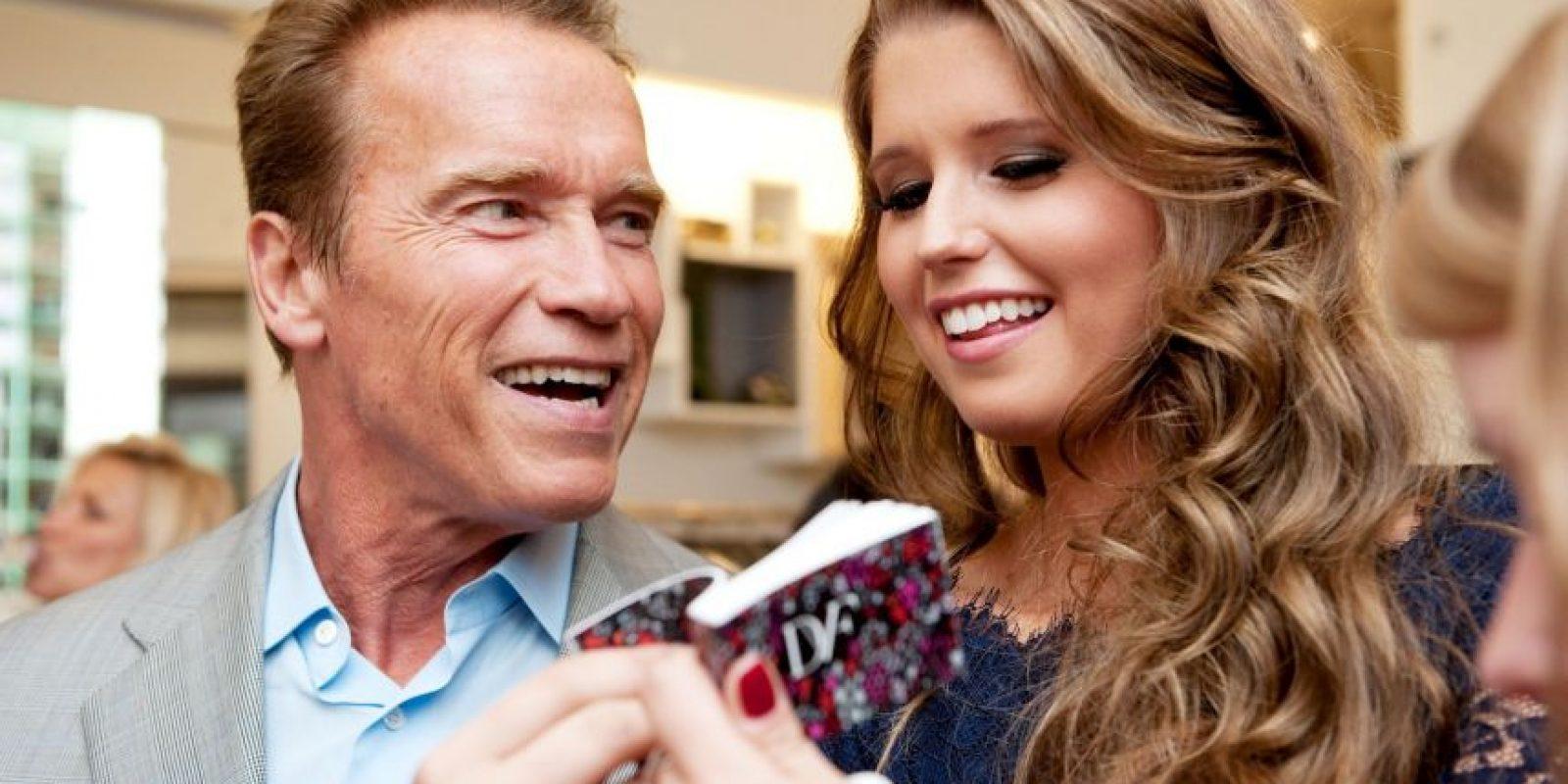 2011, con su hija Katherine Foto:Getty Images
