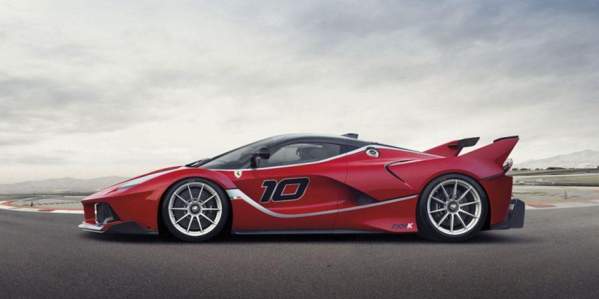 FOTOS: Ferrari FXX-K, el automóvil híbrido más potente de la historia