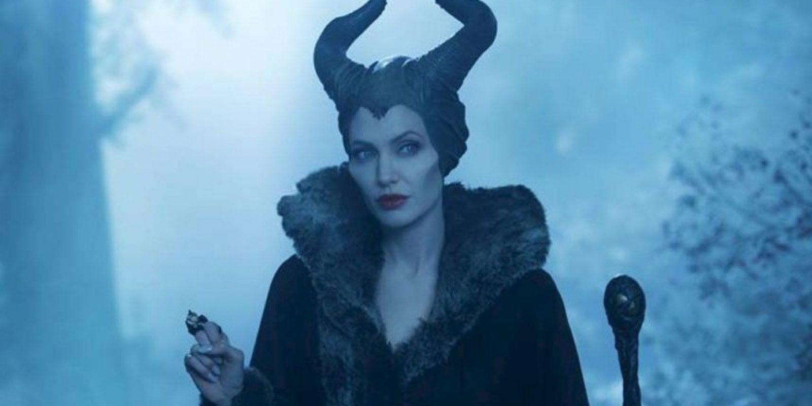 """Era una villana estereotípica, pero Angelina Jolie tomó el rol en """"live action"""" Foto:Disney"""