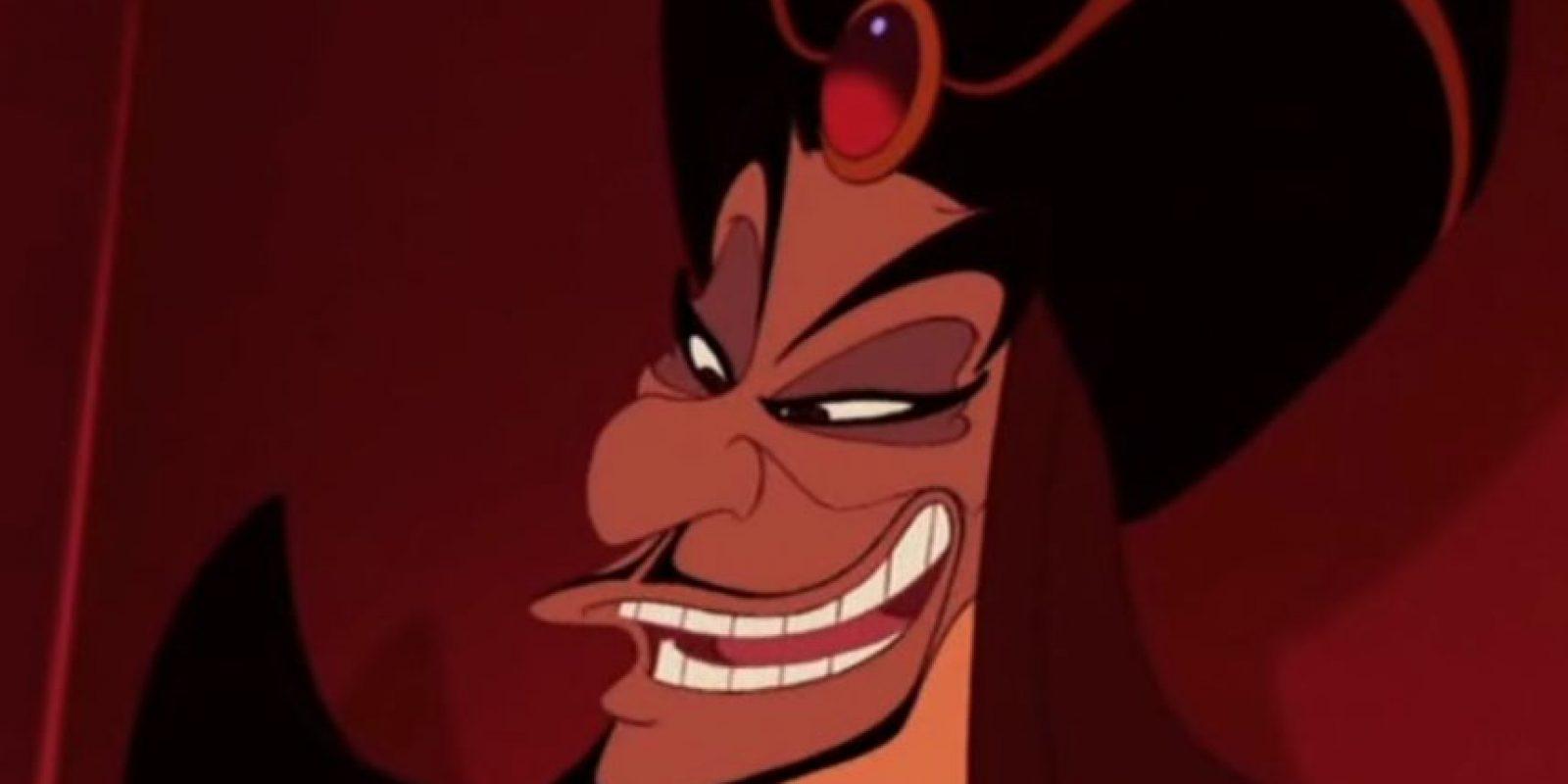 """""""Jaffar"""" es el villano de Aladdin, película de 1992 Foto:Disney"""