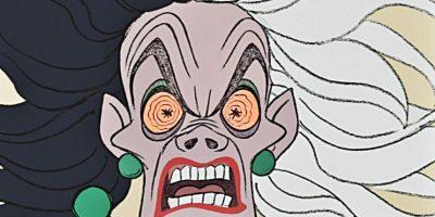 """Cruella DeVil fue el personaje más recordado de """"101 dálmatas"""" (1961) Foto:Disney"""