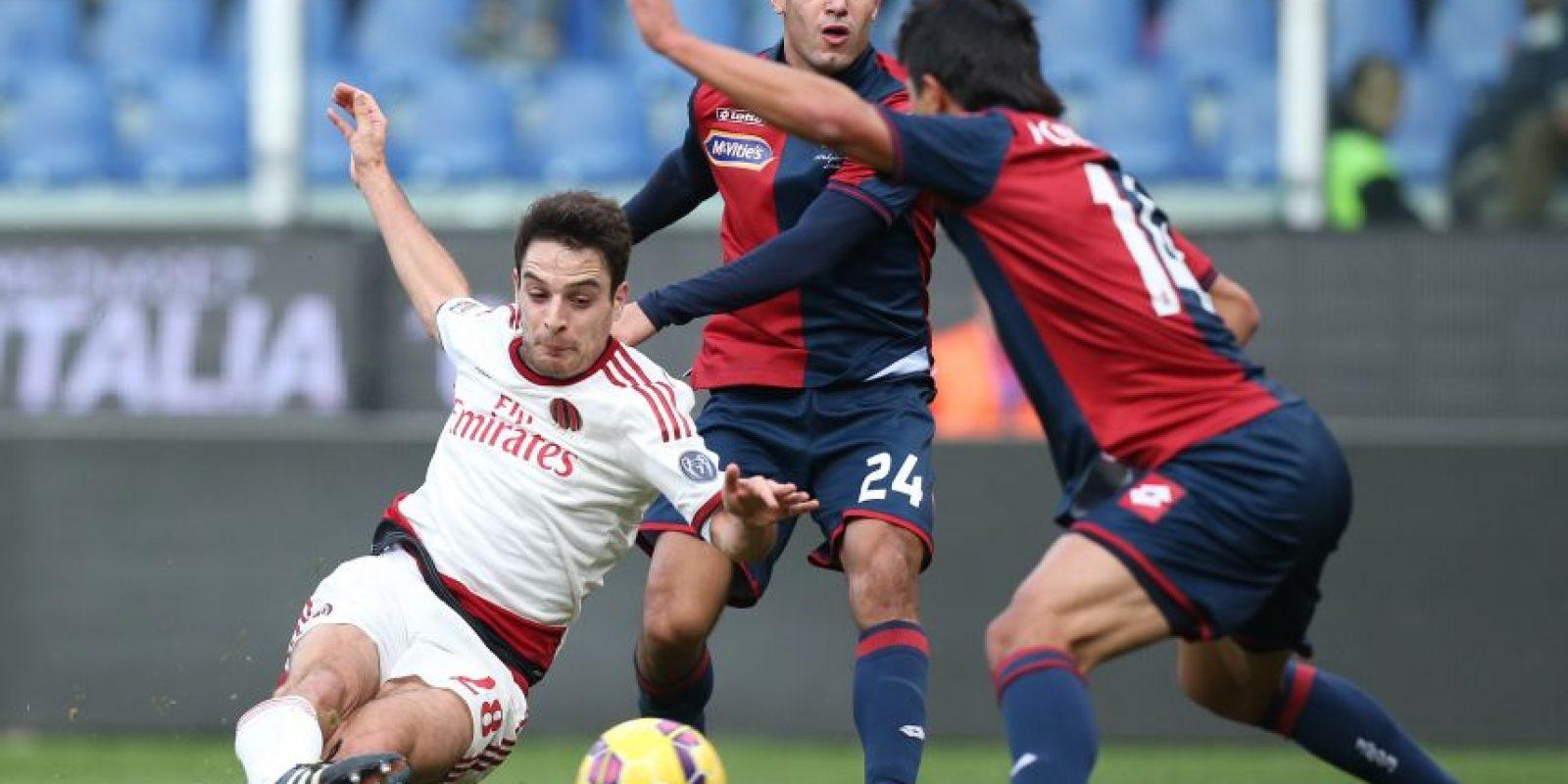 El partido fue reñido en el estadio Luigi Ferraris. Foto:AFP