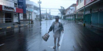 FOTOS: El demoledor paso del tifón Hagaupit en Filipinas