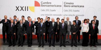 La Cumbre también es una reunión amistosa entre los mandatarios. Foto:Cuartoscuro