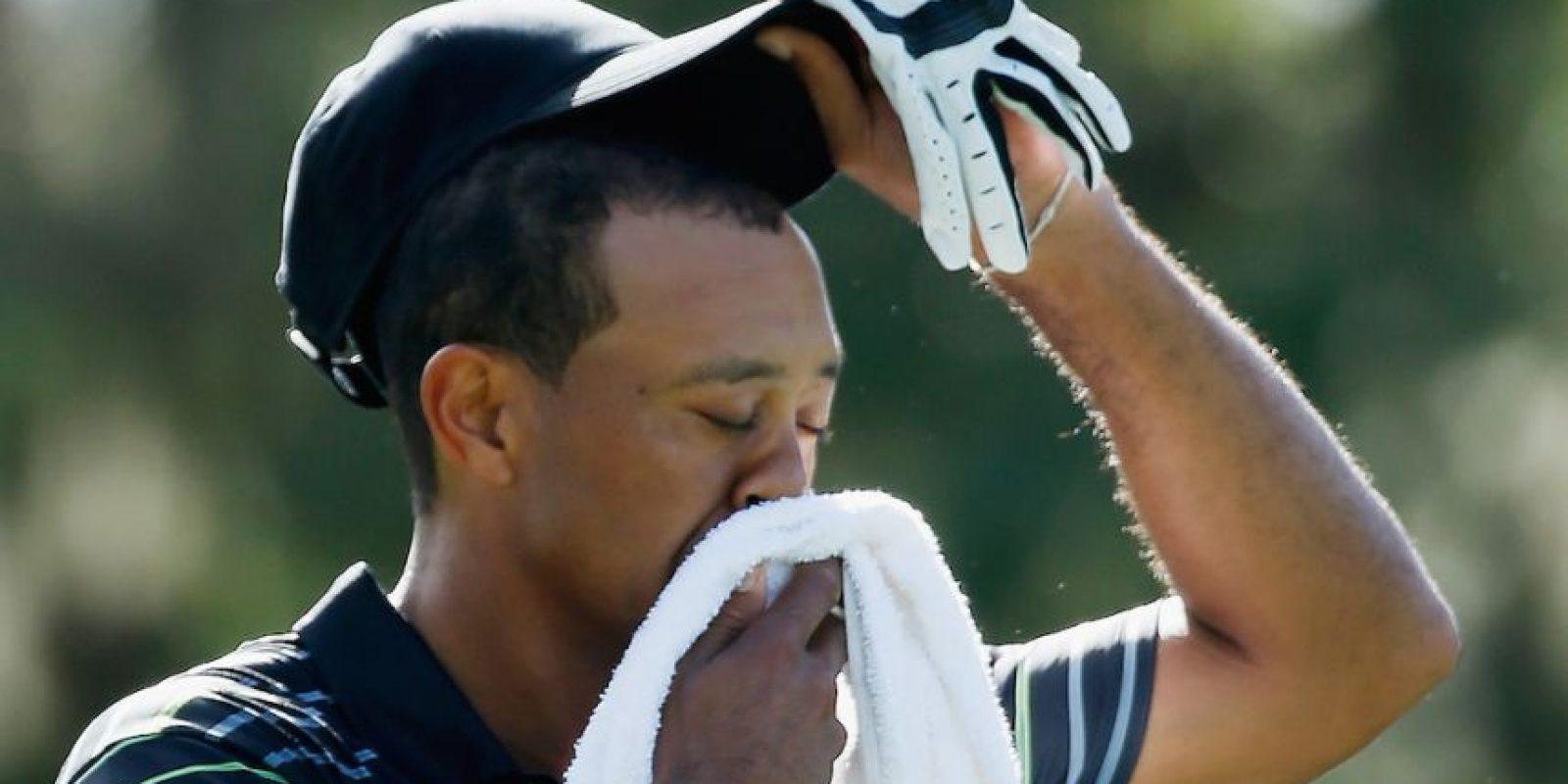 Tiger sufre una laringitis. Foto:Getty Images