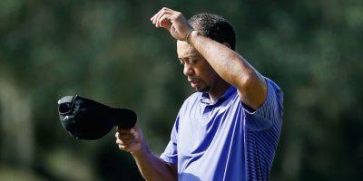 Woods sufrió de calentura, mareo y vómitos. Foto:Getty Images