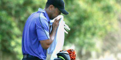 ¿Qué le pasó? Tiger Woods vomitó en su regreso al golf
