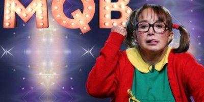"""La chilindrina"" participó en el programa de televisión ""Mira quién baila"". Foto:twitter.com/LaChilindrina"