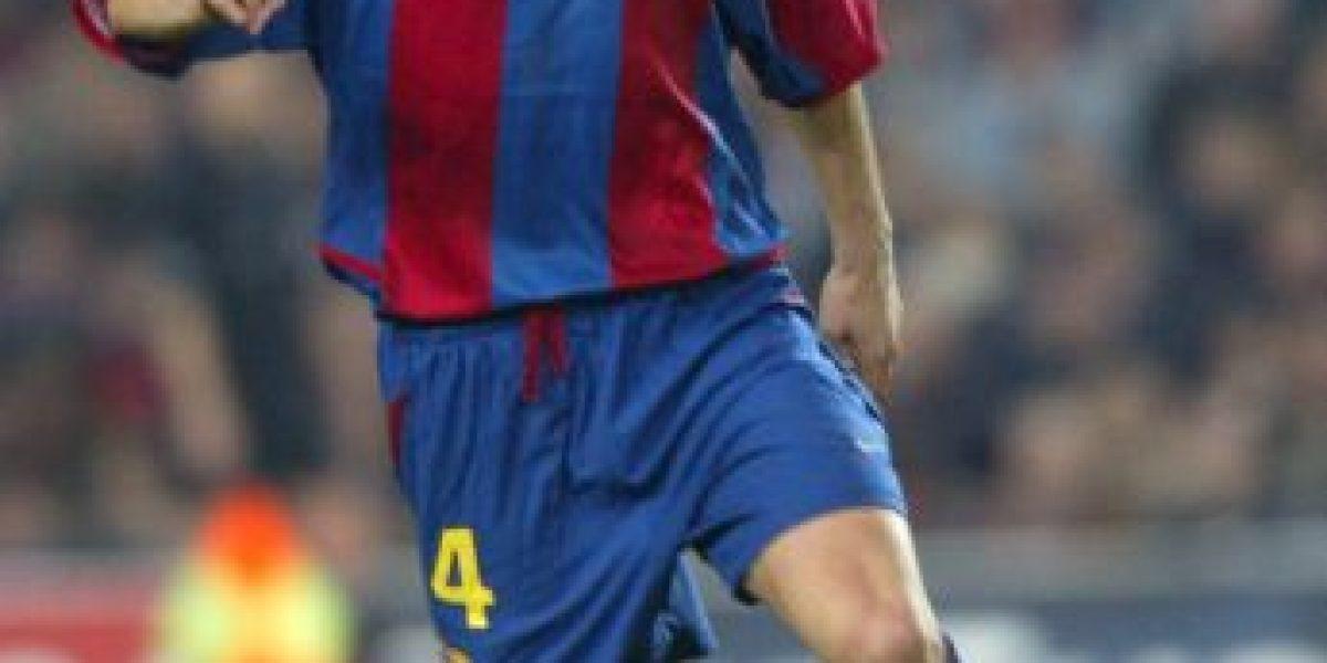 8 futbolistas que se quedaron calvos