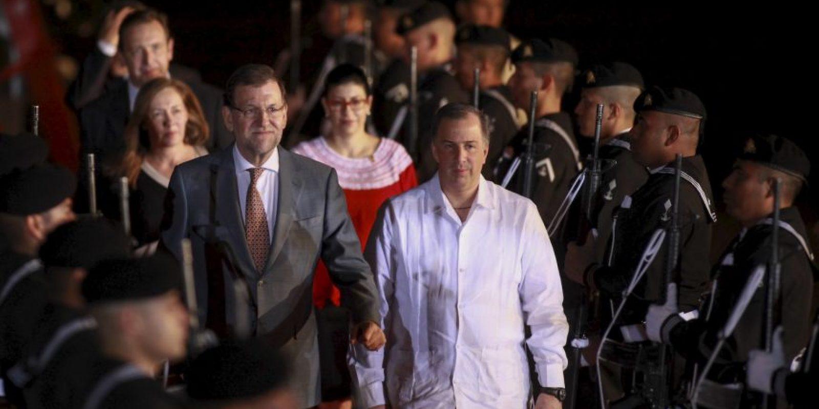 l presidente de España, Mariano Rajoy también ya está en Veracruz. Foto:Cuartoscuro