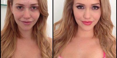 La modelo Mia Malkova Foto:Instagram (vía @xmelissamakeupx)