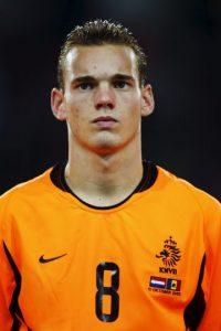 Wesley Sneijder en 2003 Foto:Getty