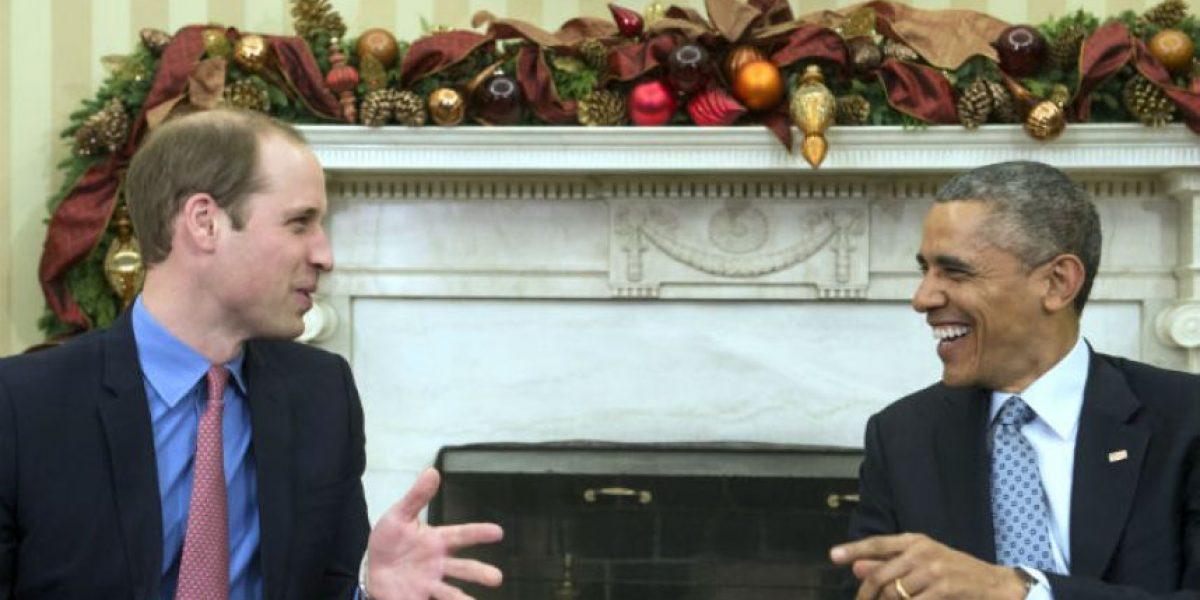 FOTOS: El príncipe William visita a Barack Obama en la Casa Blanca