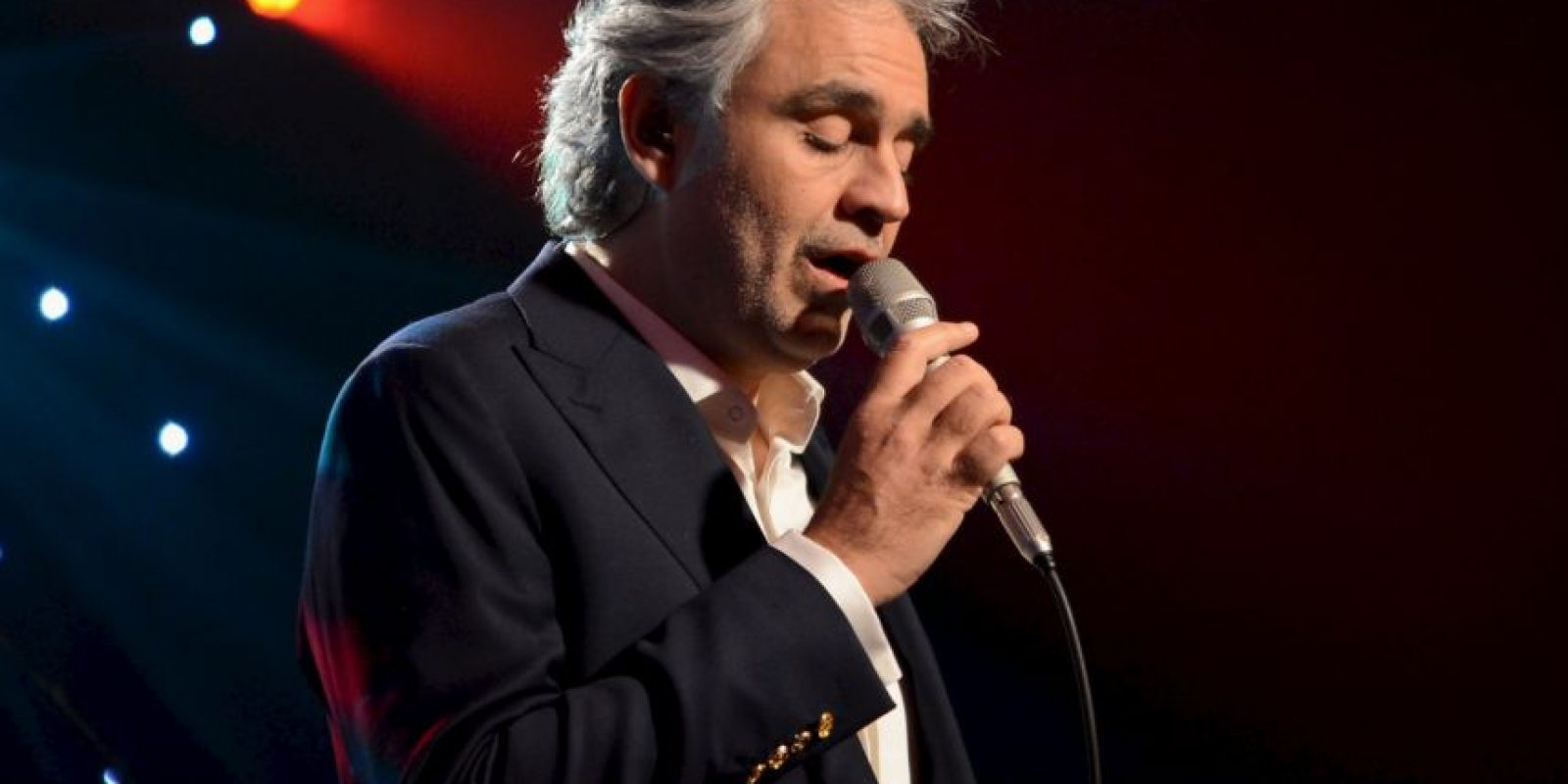 3. Andrea Bocelli Foto: Getty Images
