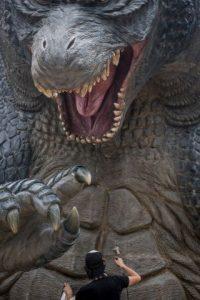El personaje de Godzilla ha aparecido en videojuegos, novelas, libros de comics y series televisivas Foto:Getty Images