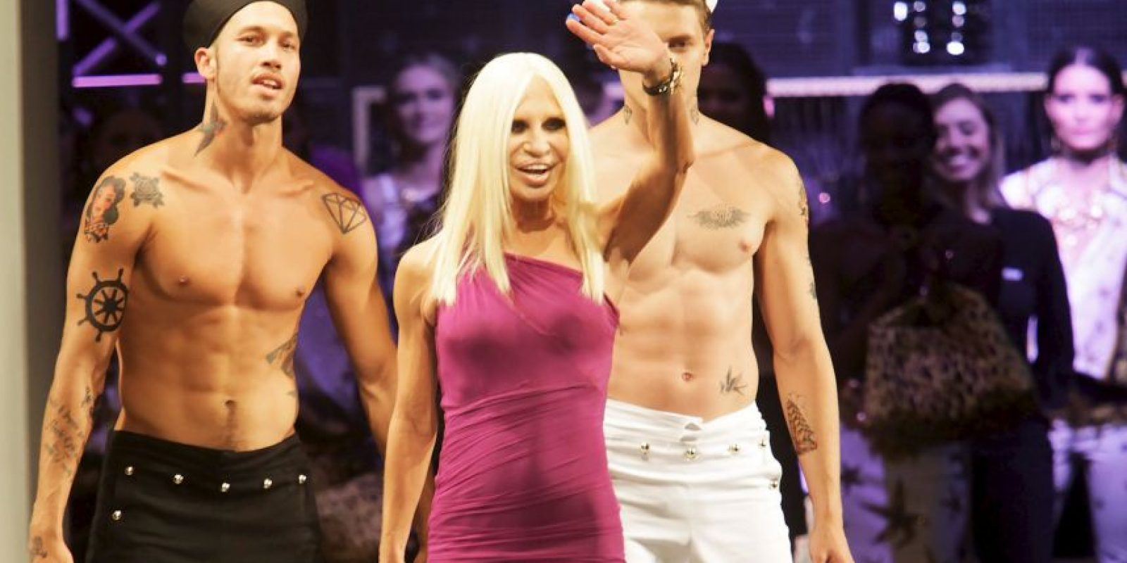 6. Donatella Versace Foto: Getty Images