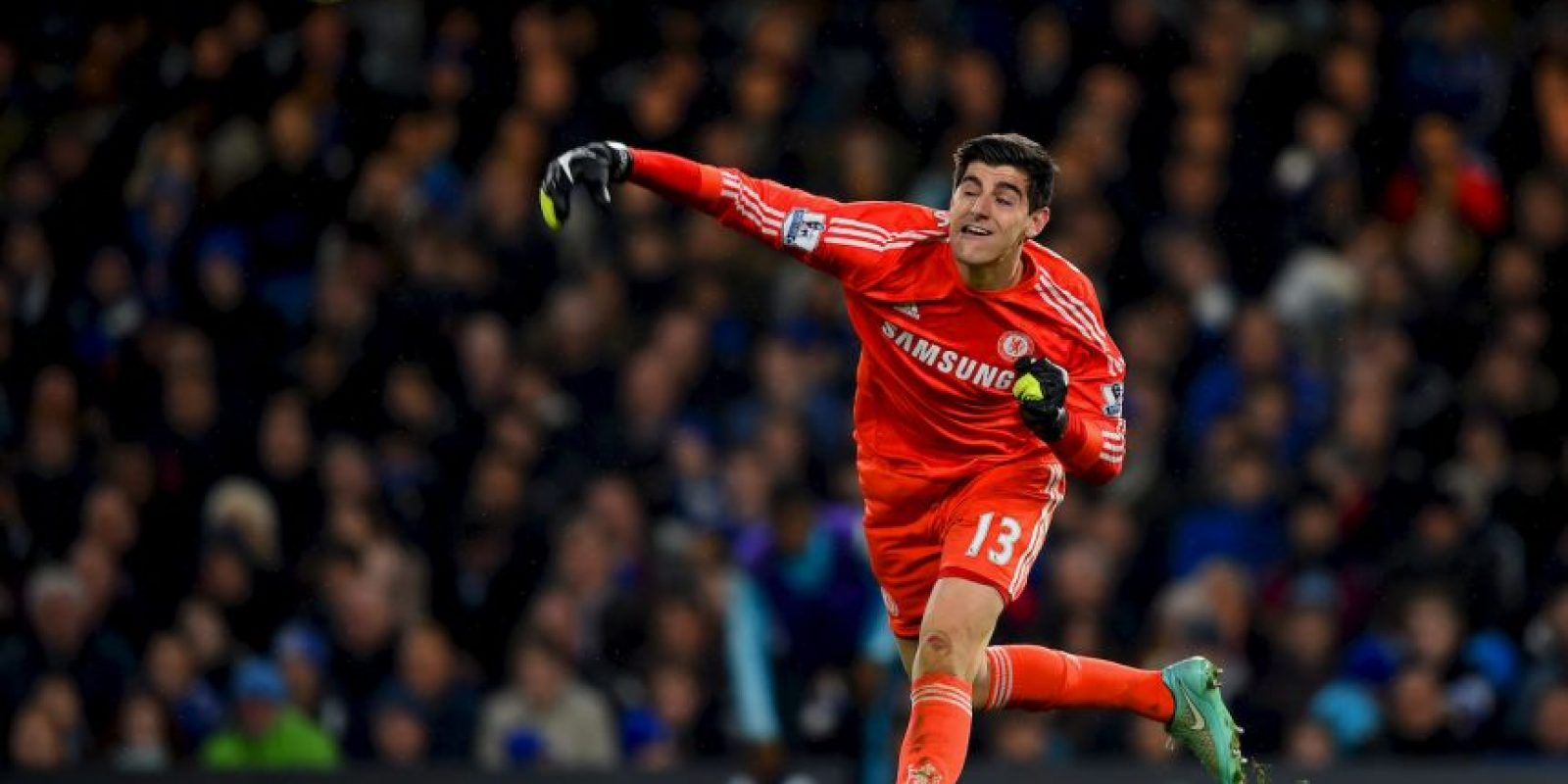 El belga Thibaut Courtois (Atlético de Madrid, 2011-2014) ocupa el segundo puesto Foto:Getty