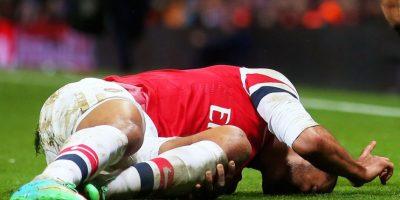 Theo Walcott – Inglaterra. 4 de enero de 2014. Foto:Getty Images