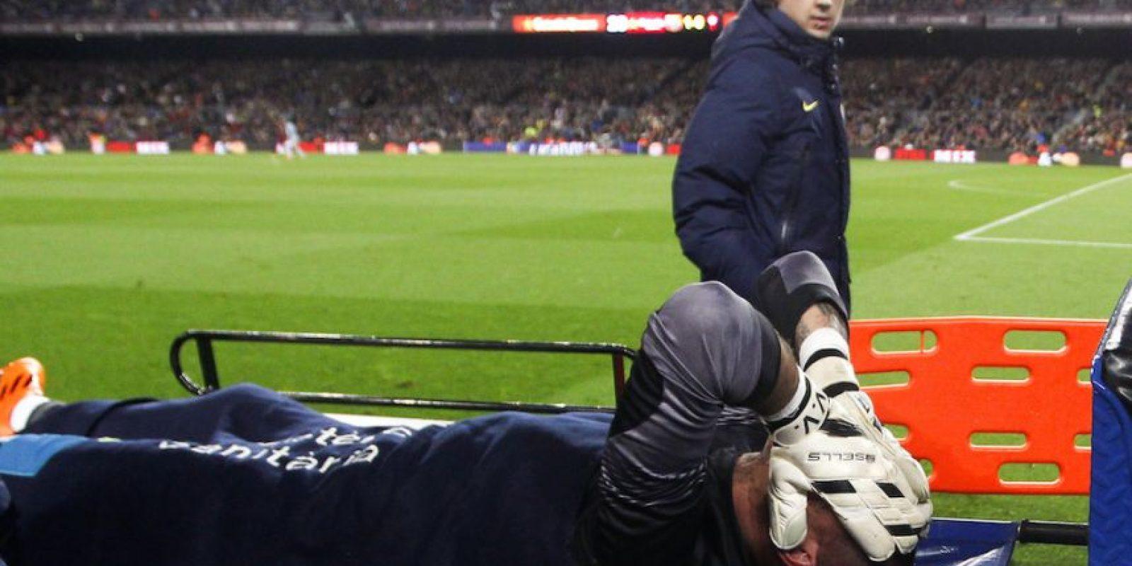 Víctor Valdés – España. 26 de marzo de 2014. Foto:Getty Images