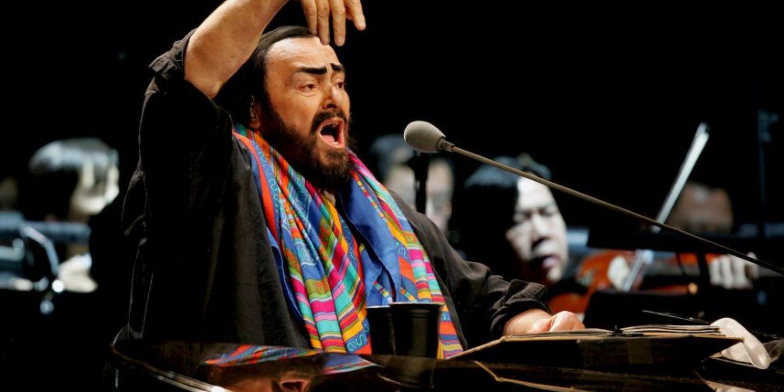 Cantante de Ópera, fallecido en 2007 Foto:Getty Images