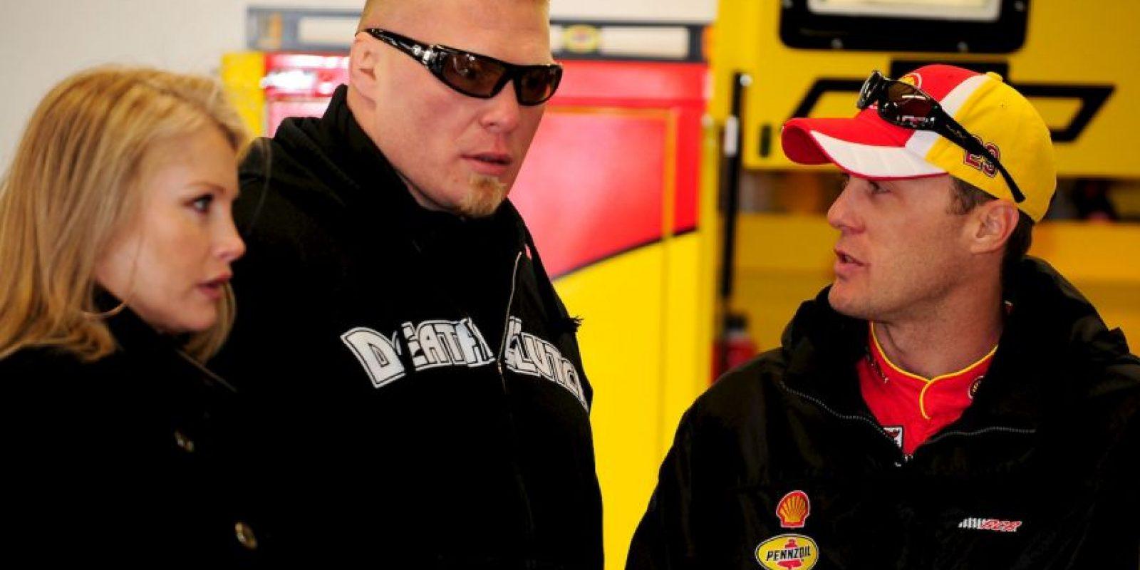 Sable es la mujer del campeón Brock Lesnar Foto:Getty