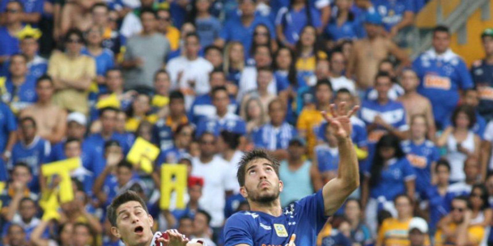 Silva juega con el Cruzeiro, de Brasil. Foto:EFE