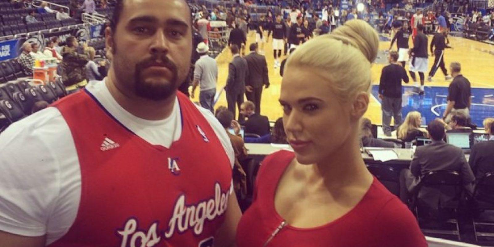 Rusev es managedo por Lana, pero fuera de los cuadriláteros mantienen una relación Foto:Instagram: @thelanawwe