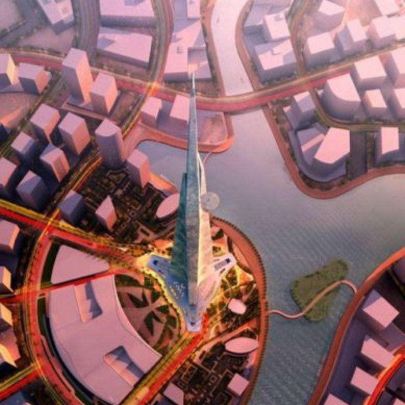 Este será el edificio más alto del mundo. Foto: Adrian Smith + Gordon Gill Architecture – Skyscrapercenter.com