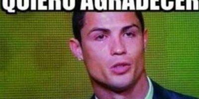Cristiano Ronaldo ganó el Balón de Oro el pasado 13 de enero Foto:Twitter