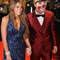 Así se vistió Lionel Messi en la gala del Balón de Oro Foto:Twitter