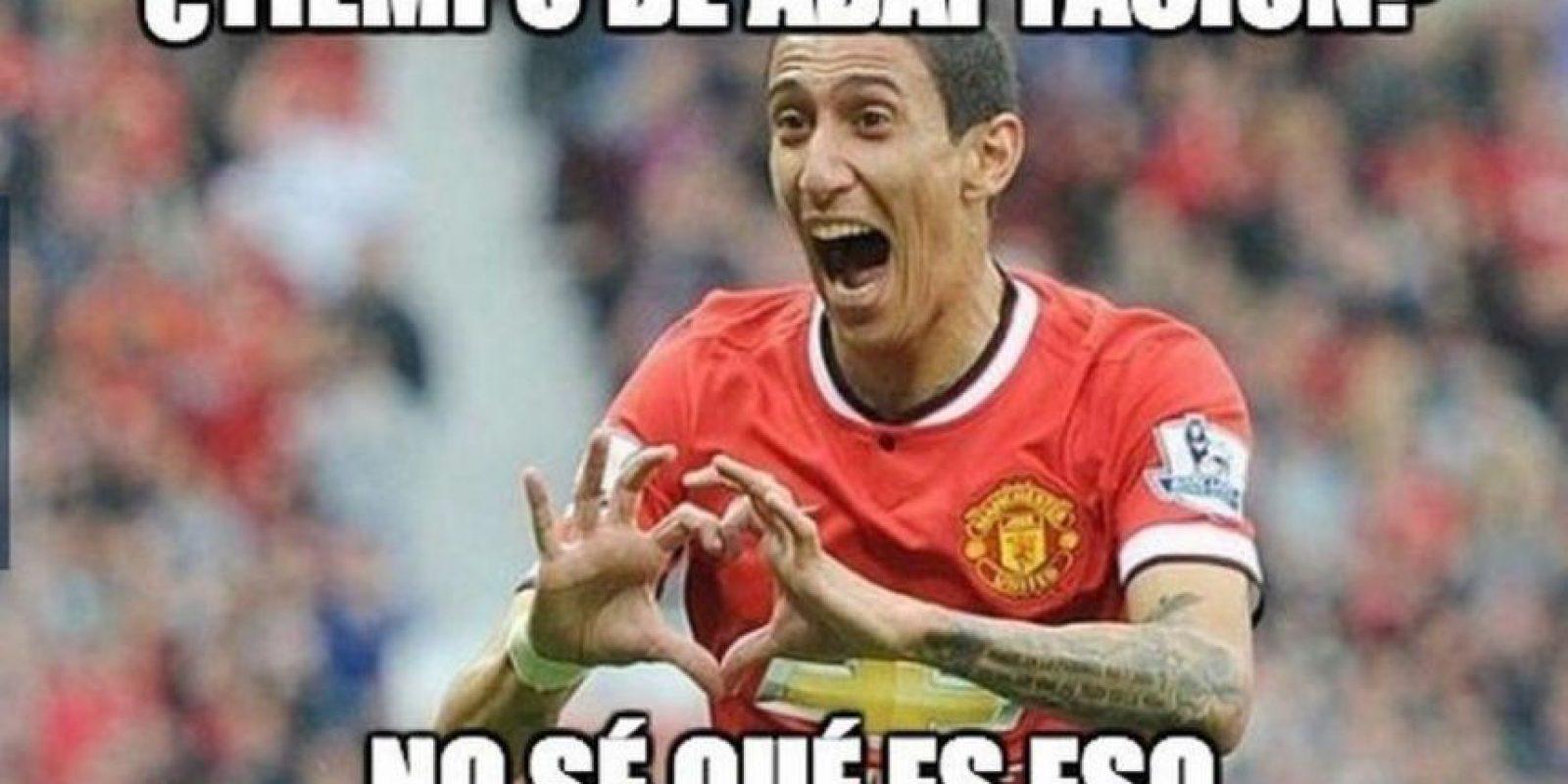 El 26 de agosto, Ángel Di María llegó al Manchester United Foto:Twitter