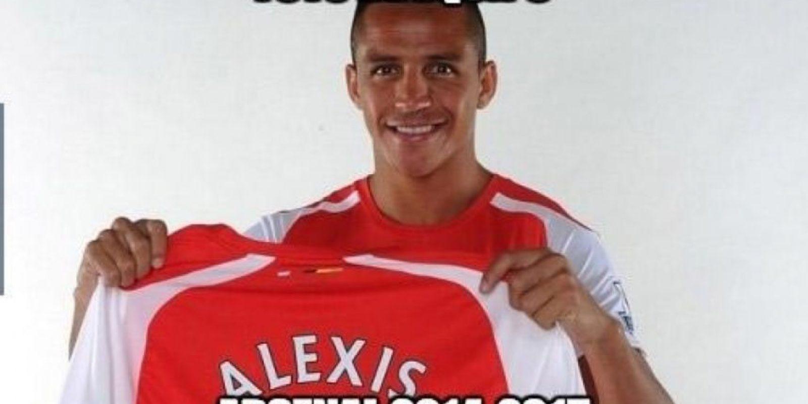 Alexis Sánchez ha tenido una temporada brillante con el Arsenal Foto:Twitter