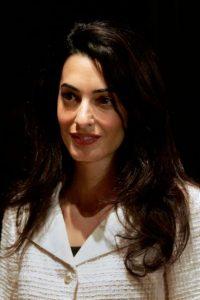Amal Alamuddin en una prestigiosa abogada británica de origen libanés. Foto:Getty Images