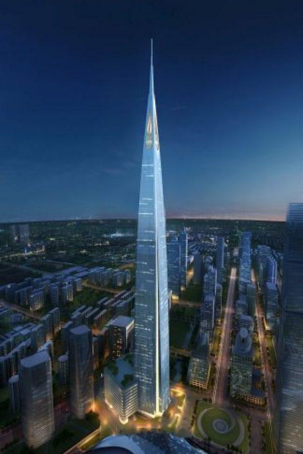 2. Suzhou Zhongnan Center, (China). Con 138 pisos y 729 metros (2392 pies) de altura será completado en 2020. Foto:Gensler – Skyscrapercenter.com