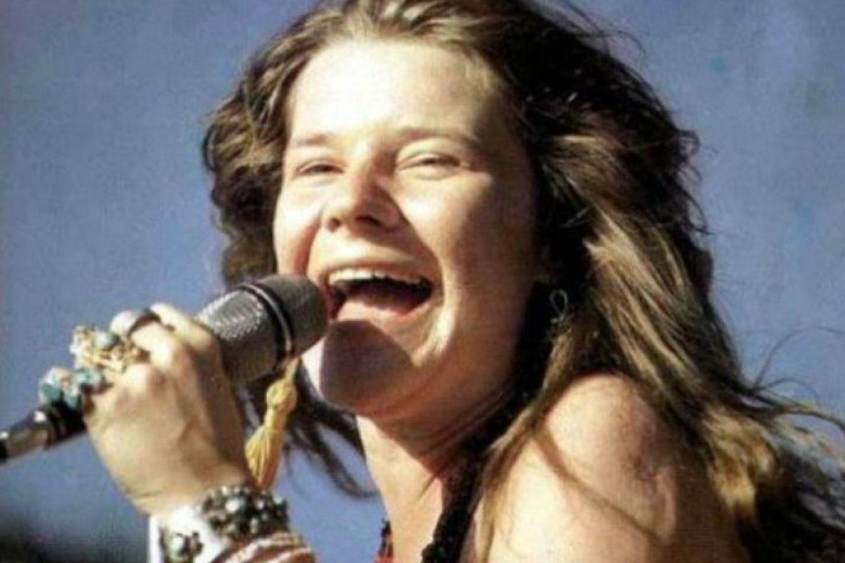 Cantante de rock and roll y blues caracterizada por su voz y su espíritu rebelde. Murió a causa de una sobredosis de heroína. Foto:Agencias