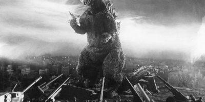 ¡En la pantalla grande! Godzilla
