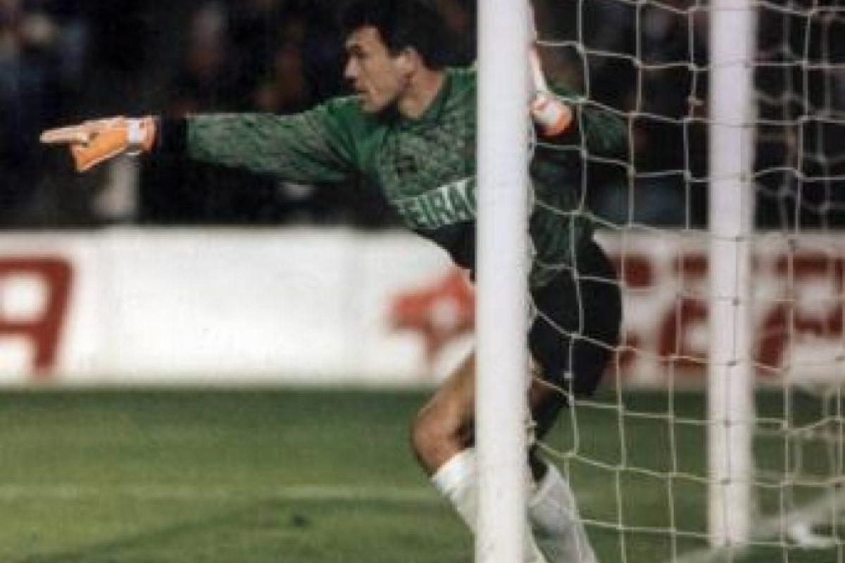 Francisco Liaño (Racing, Deportivo y Sporting, 1984-1998) también sube al podio Foto:Getty