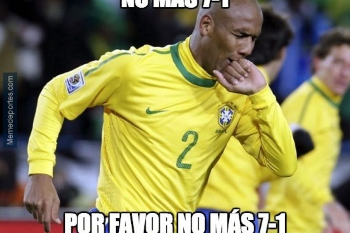Brasil fue humillado en las semis del Mundial por Alemania Foto:Twitter