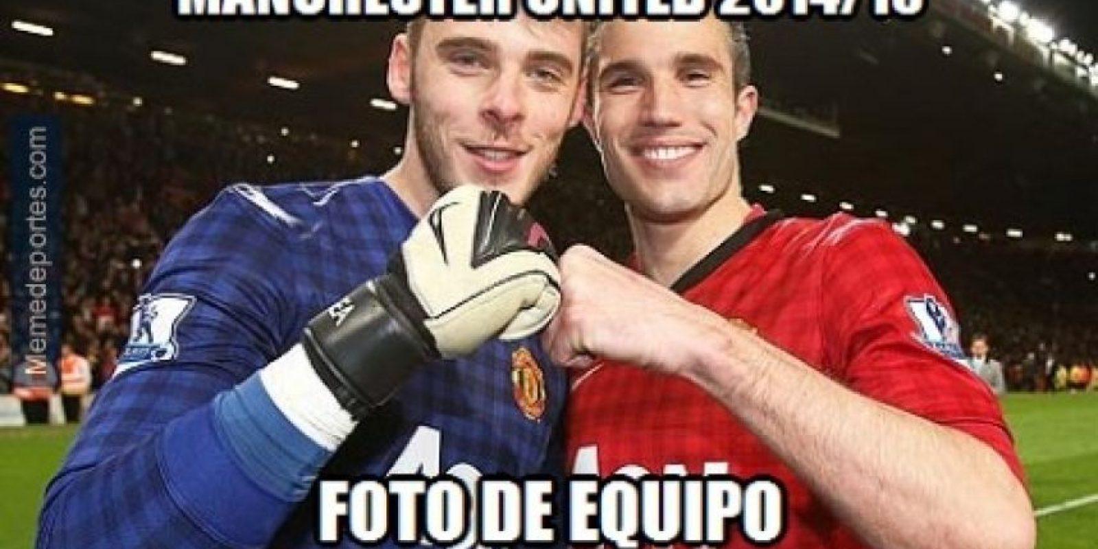 De Gea y Van Persie son las figuras del Manchester United Foto:Twitter