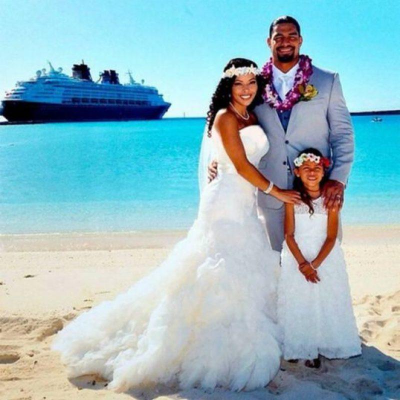 Roman Reigns acaba de casarse con Galina Joelle Becker Foto:Facebook: Galina Joelle Becker