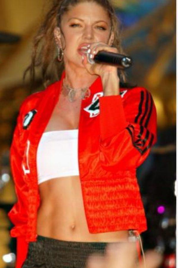 Fergie, de Black Eyed Peas. Foto:Getty Images