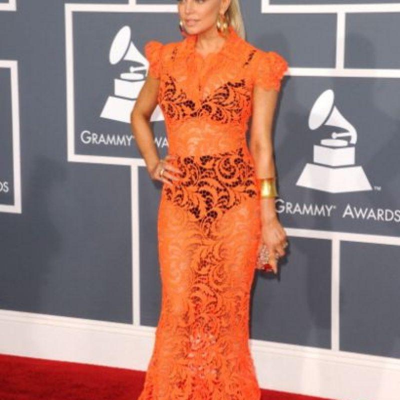 Así se le vio en los Grammy Foto:Getty Images