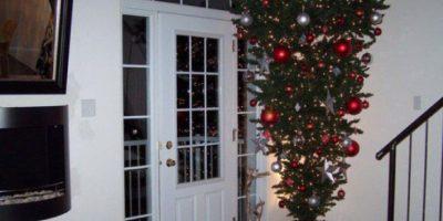 ¿Quién habrá puesto este árbol? Foto:Tumblr/Tagged-arbol-navidad