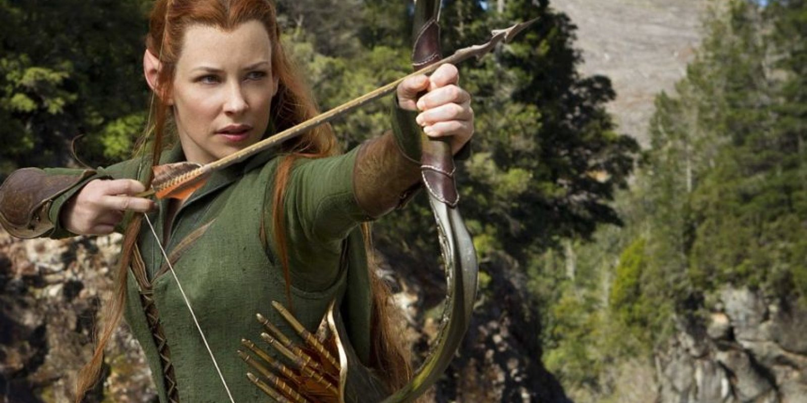 El personaje no aparece en la obra de Tolkien. Foto:New Line Cinema/MGM