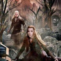 """Evangeline Lilly vuelve a interpretar a """"Tauriel"""", la elfa silvana, en """"El Hobbit: la batalla de los Cinco Ejércitos"""" Foto:New Line Cinema/MGM"""