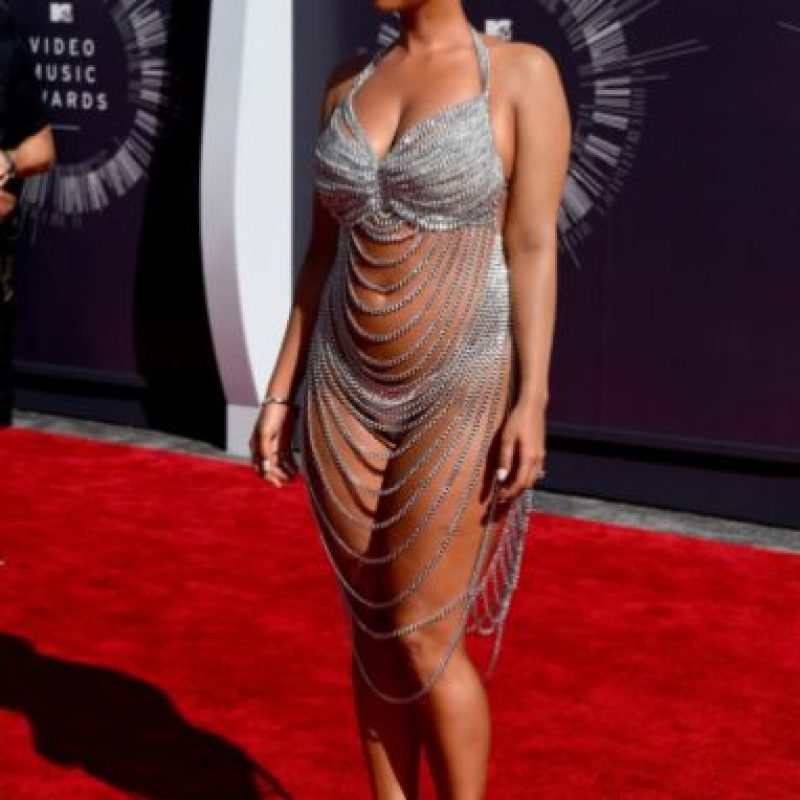 Amber Rose en los MTV Video Music Awards también sorprendió. Foto: Getty Images