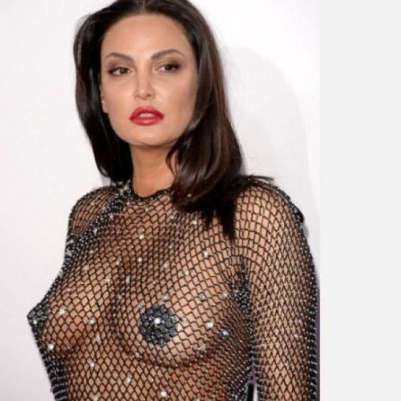 Un vestido que lo mostraba todo. Foto:Getty Images