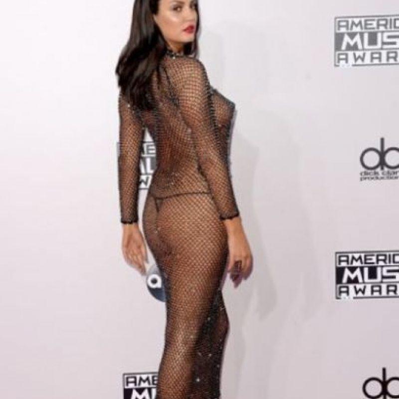 Bleona Qereti hizo la misma gracia en los American Music Awards Foto:Getty Images