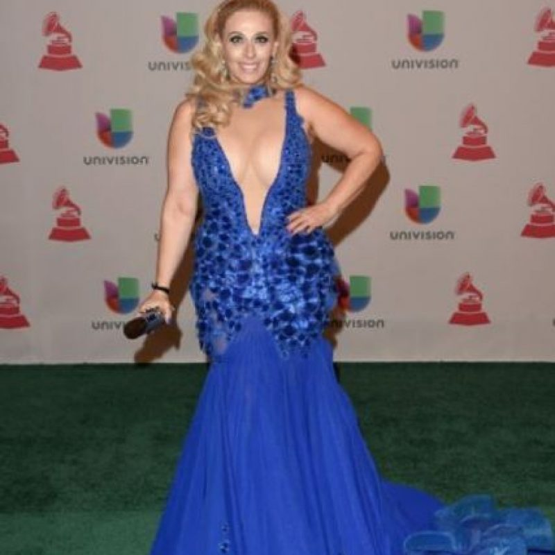 Violeta Martin, en los Grammy Latinos. Foto: Getty Images